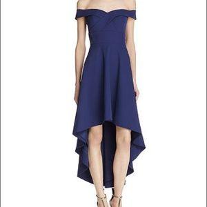 NWOT! Off The Shoulder High Low Formal Dress